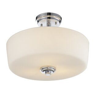 Wheatley 3-Light Semi Flush Mount by Winston Porter