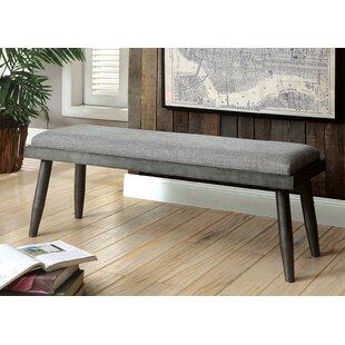 Nolea Solid Wood Bench by Gracie Oaks