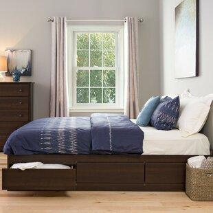 Haycraft King Storage Platform Bed