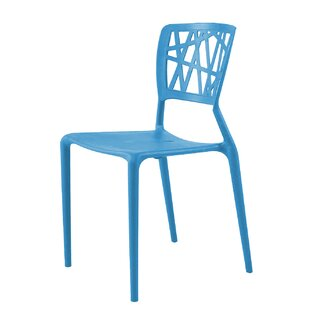 Mobley Stacking Patio Dining Chair by Turn on the Brights