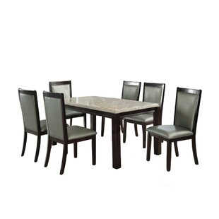 Antranigian Solid Wood Dining Table