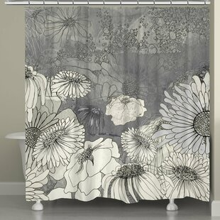Fedele Flowers Single Shower Curtain