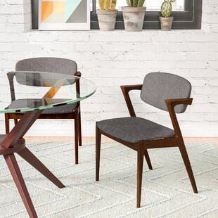 Lehighton Upholstered Arm Chair (Set of 2) by Wade Logan
