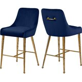 Stovall 28 Bar Stool (Set of 2) by Everly Quinn