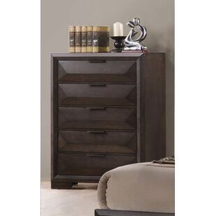 Ebern Designs Haworth 5 Drawer Chest