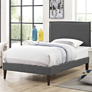 Coupon Winsett Upholstered Platform Bed by Turn on the Brights