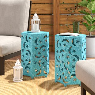 Antoinette Iron Side Table (Set of 2)