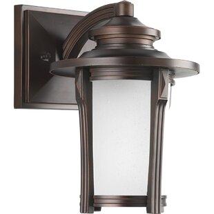 Alcott Hill Triplehorn 1-Light Efficient Wall Lantern