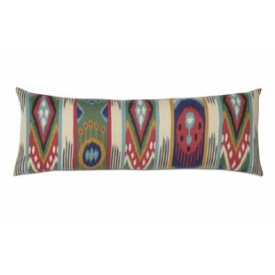Akela Ethnic Ikat Lumbar Pillow