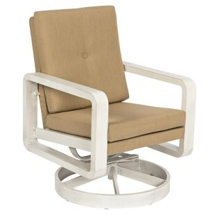 Vale Swivel Rocking Chair with Cushions by Woodard