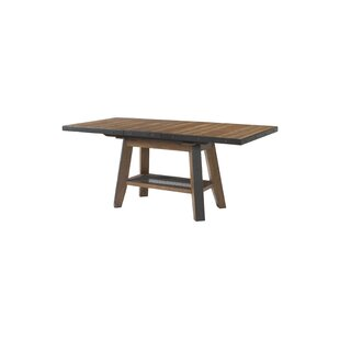 Baulch Extendable Solid Wood Dining Table by Gracie Oaks