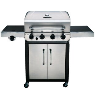 Performance 4 Burner Propane Gas Grill With Cabinet