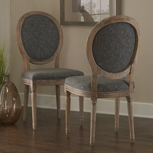 Renne Upholstered Dining Chair (Set Of 2) by Lark Manor Discount