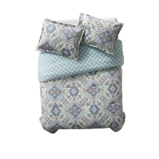 Hyperion Cotton 3 Piece Reversible Comforter Set