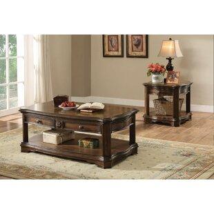 Astoria Grand Foxman 2 Piece Coffee Table Set