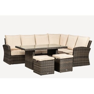 Dallas 8 Seater Rattan Sofa Set By Sol 72 Outdoor