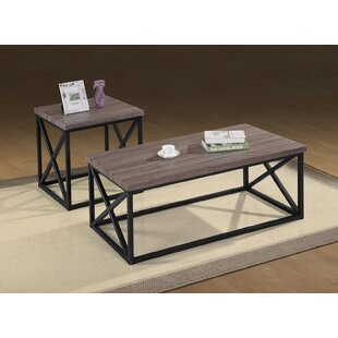 McManus 3 Piece Coffee Table Set 17 Stories