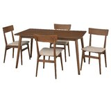 Middlebury Solid Wood Dining Set by George Oliver
