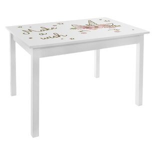 Anderton Girl Printed Children's Play Table By Zoomie Kids
