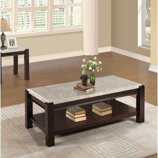 Zeke Wood Coffee Table