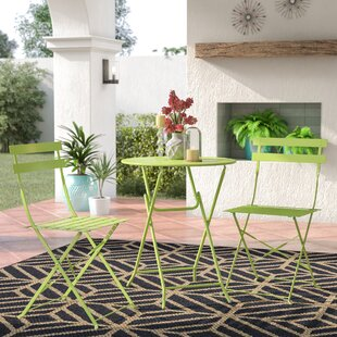 Courtland 3 Piece Bistro Set by Turn on the Brights