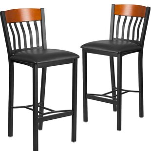 Ringel Contemporary Bar Stool (Set of 2) Red Barrel Studio