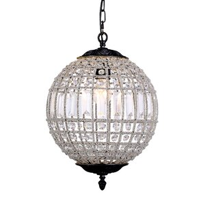 Crestview 1-Light Globe Pendant