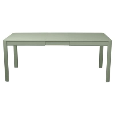 Ribambelle Extendable Metal Dining Table by Fermob Best Choices