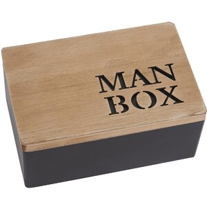 Mode Man Manufactured Wooden Box