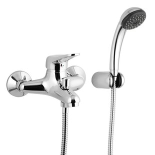 Remer by Nameek's Wall Mounted Tub Filler Trim with Hand Shower
