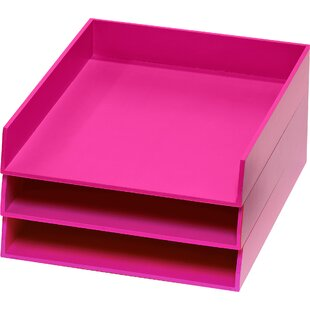 Rebrilliant Organizers 3 Letter Tray Set (Set of 3)