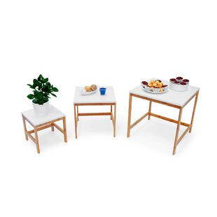 Askins Bamboo 3 Piece Nest Of Tables By Brambly Cottage