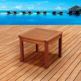 Buckmaster International Solid Wood Side Table