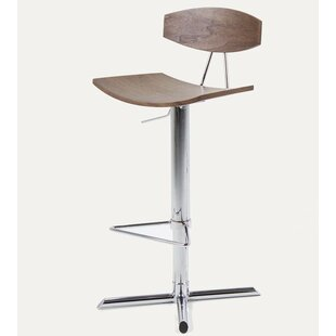 Beech Hill Height Adjustable Swivel Bar Stool By Mercury Row