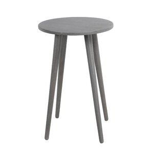 Saulsbury Round End Table by Varick Gallery
