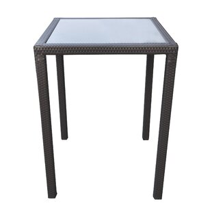 Orren Ellis Whittingham WickerBar Table