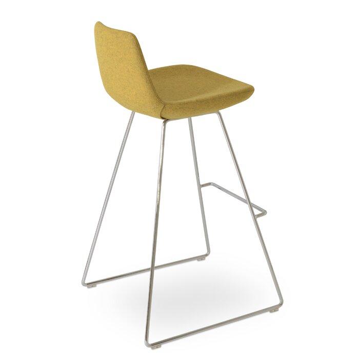 Phenomenal Pera Wool 29 Bar Stool Inzonedesignstudio Interior Chair Design Inzonedesignstudiocom