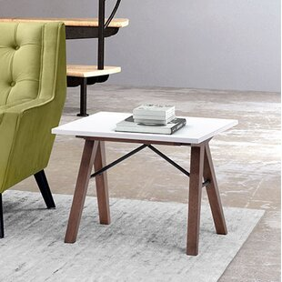 Melillo End Table by Brayden Studio