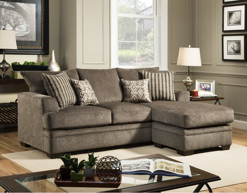 Charlton Home Pelayo 92 Right Hand Facing Sectional Reviews Wayfair Ca
