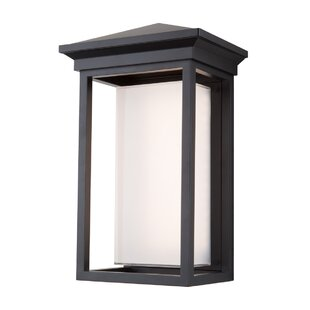 Longshore Tides Tecca Traditional 1-Light Outdoor Flush Mount