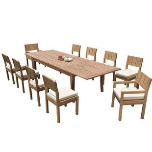 Inexpensive Rosecliff Heights Mastropietro 5 Piece Teak Dining Set Perfect Price