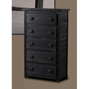 Best Reviews Chon 5 Drawer Chest by Harriet Bee Reviews (2019) & Buyer's Guide