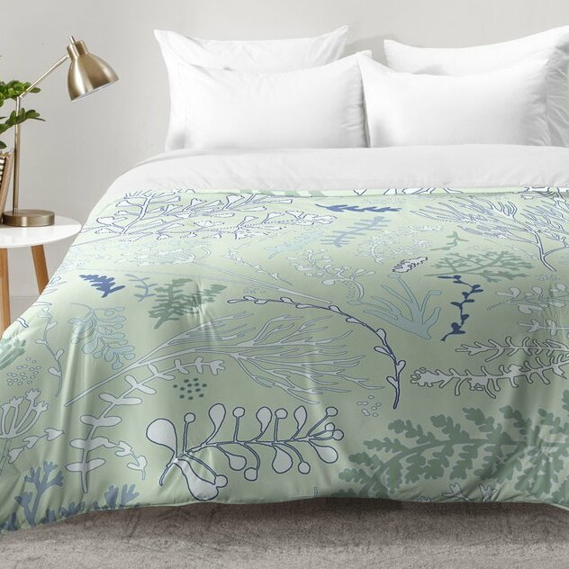 East Urban Home Herbs and Ferns Comforter Set