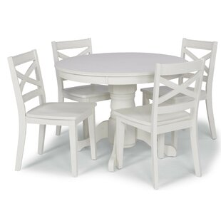 Moravia 5 Piece Dining Set by Laurel Foun..