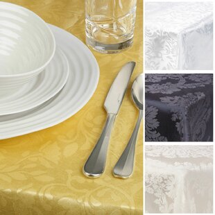 Damask Tablecloth By Symple Stuff
