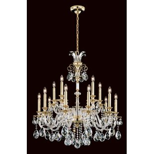Schonbek Rivington 15-Light Chandelier