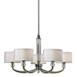 Uttermost Vanalen 5-Light Shaded Chandelier