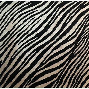 Order Metro-Velvet Hand- Knotted Black/White Area Rug ByExquisite Rugs