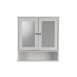 Anderson Double Mirror Door 58cm X 56cm Surface Mount Mirror Cabinet By Belfry Bathroom