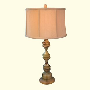 Chartreuse Marble 31 Table Lamp